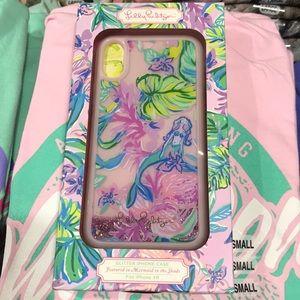 Lily Pulitzer XR mermaid phone case